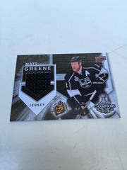 Matt Greene Upper Deck Jersey Card