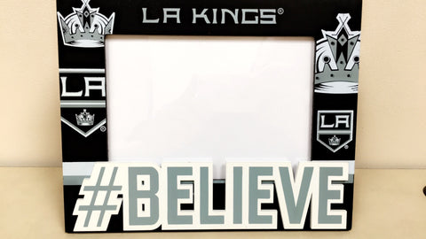Bailey #BELIEVE Picture Frame 3in x 5in