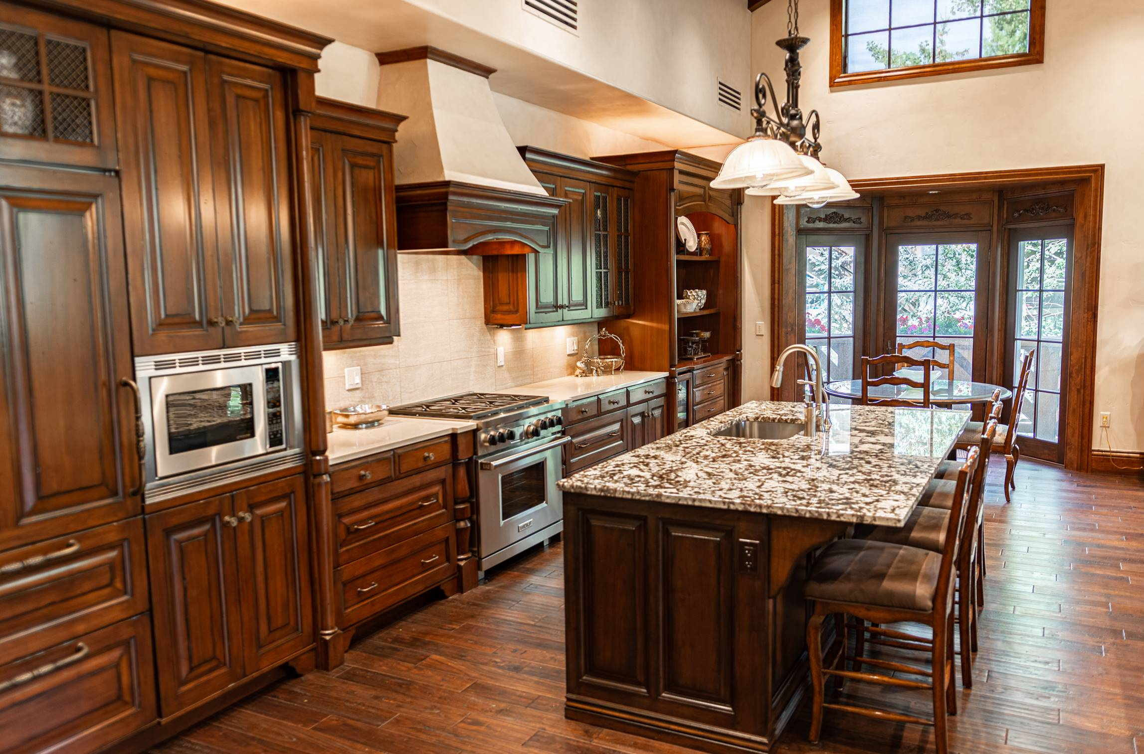 A Spacious Vail Condo Kitchen