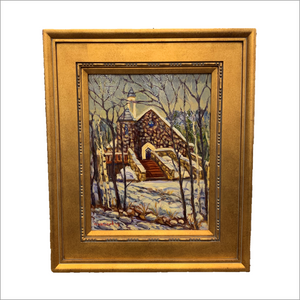 Beaver Creek Chapel Original Painting