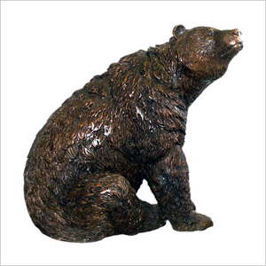 Bronze Bear Sitting