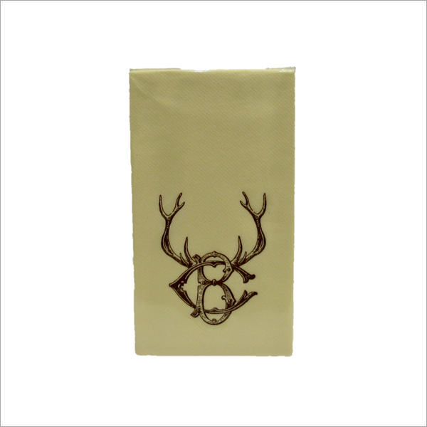 Beaver Creek Stag Paper Guest Towels