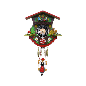 Mini Cuckoo Clock with Teeter Totter and Swing
