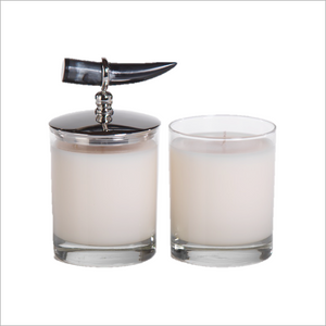 Casablanca Scented Candle with Horn Lid