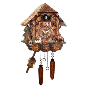 Cuckoo Clock with Bears
