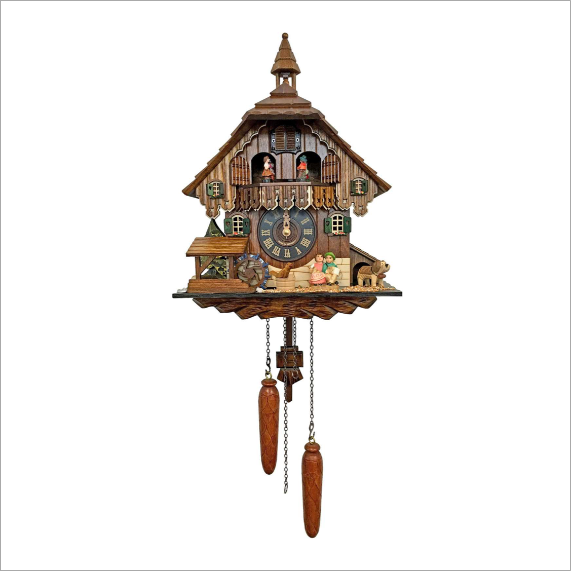Cuckoo Clock with Kissers