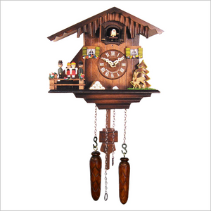Cuckoo Clock with People