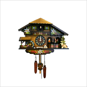 Cuckoo Clock with Side Dancers