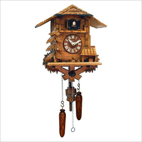Cuckoo Clock with Snowy Tree