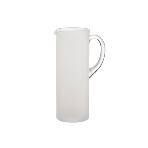Frosted Martini Pitcher with Stirrer