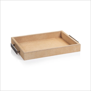 Leather Hide Tray