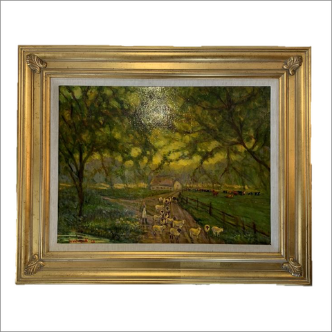Memories of Blackberry Farm Original Oil Painting