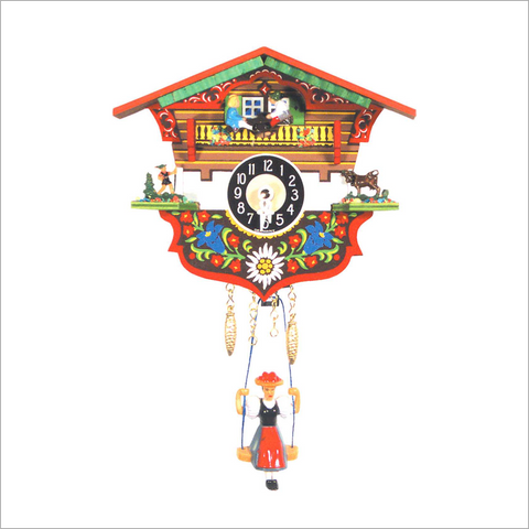 Mini Cuckoo Clock with Shepherd
