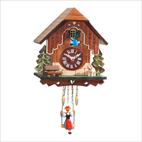 Mini Cuckoo Clock with Trees