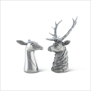 Stag and Doe Salt and Pepper