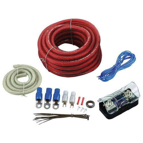 AMPLIFIER WIRING KIT 4GA;BULLZAUDIO; RED/GOLD EDITION; BOX