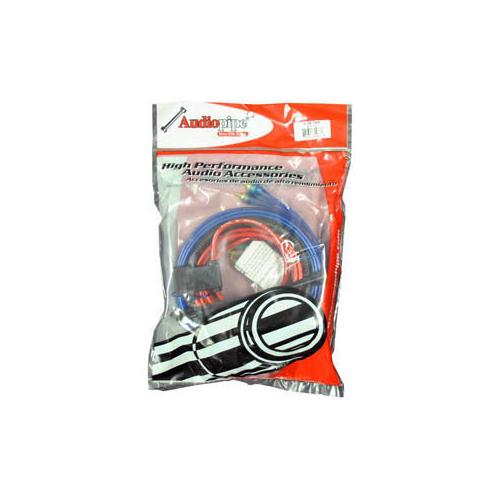 AMP WIRING KIT AUDIOPIPE 10GA 700WATTS W/RCA CABLES