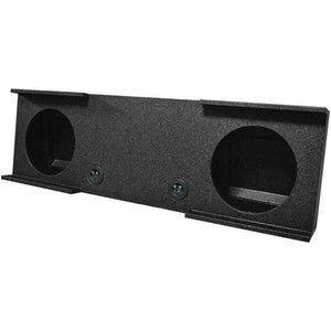 "Qpower Bomb 07-13 GMC Dual 10"" Woofer Box Under Seat Downfire"