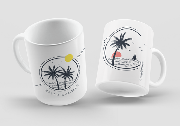 Summer Vibes Mug Collection