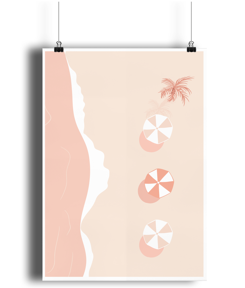 Load image into Gallery viewer, Beach Life Bamboo Wall Print