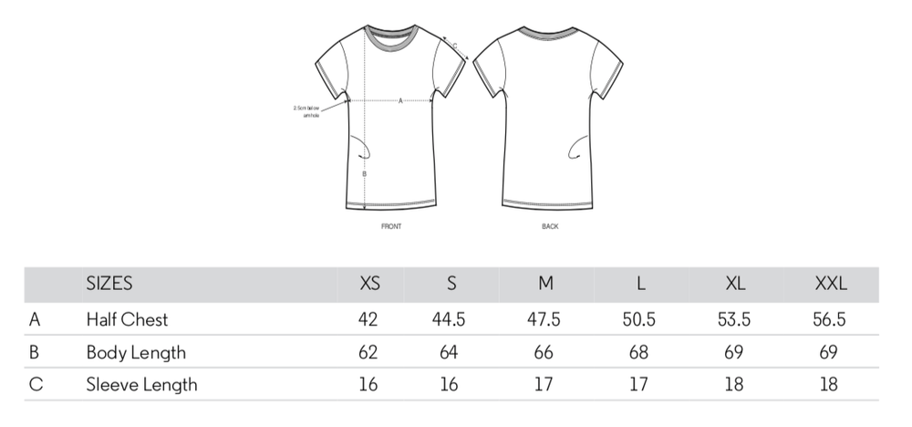 Load image into Gallery viewer, New York T-Shirt Sizing