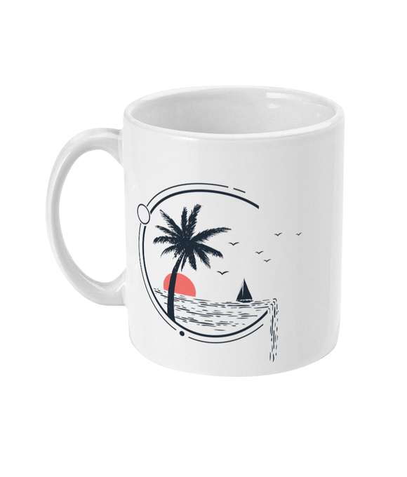Sunset Cruising Mug