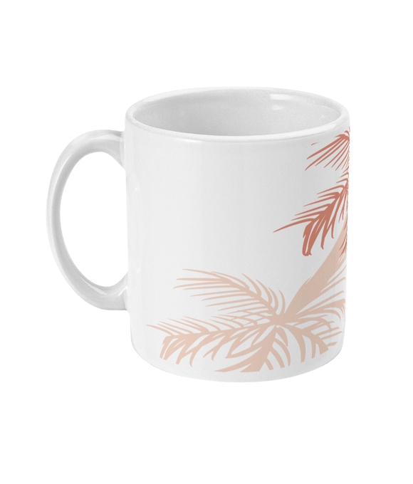 Palm Tree Shadows Mug