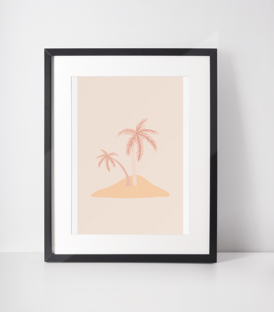 Load image into Gallery viewer, Island Life Bamboo Print