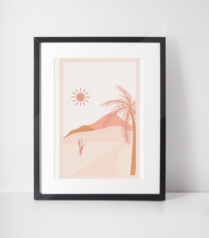Load image into Gallery viewer, Desert Life Bamboo Print