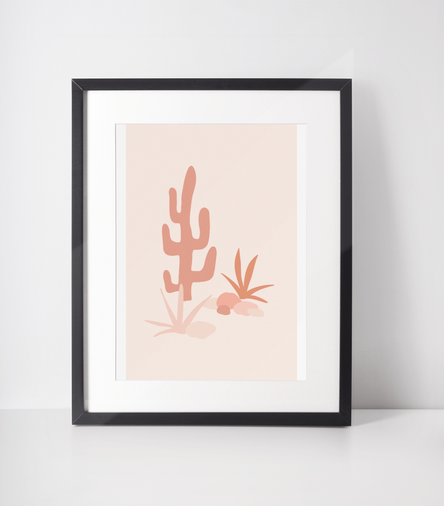 Load image into Gallery viewer, Cactus Days Bamboo Print