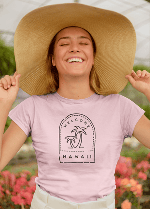 Load image into Gallery viewer, Hawaii Passport Stamp T-Shirt