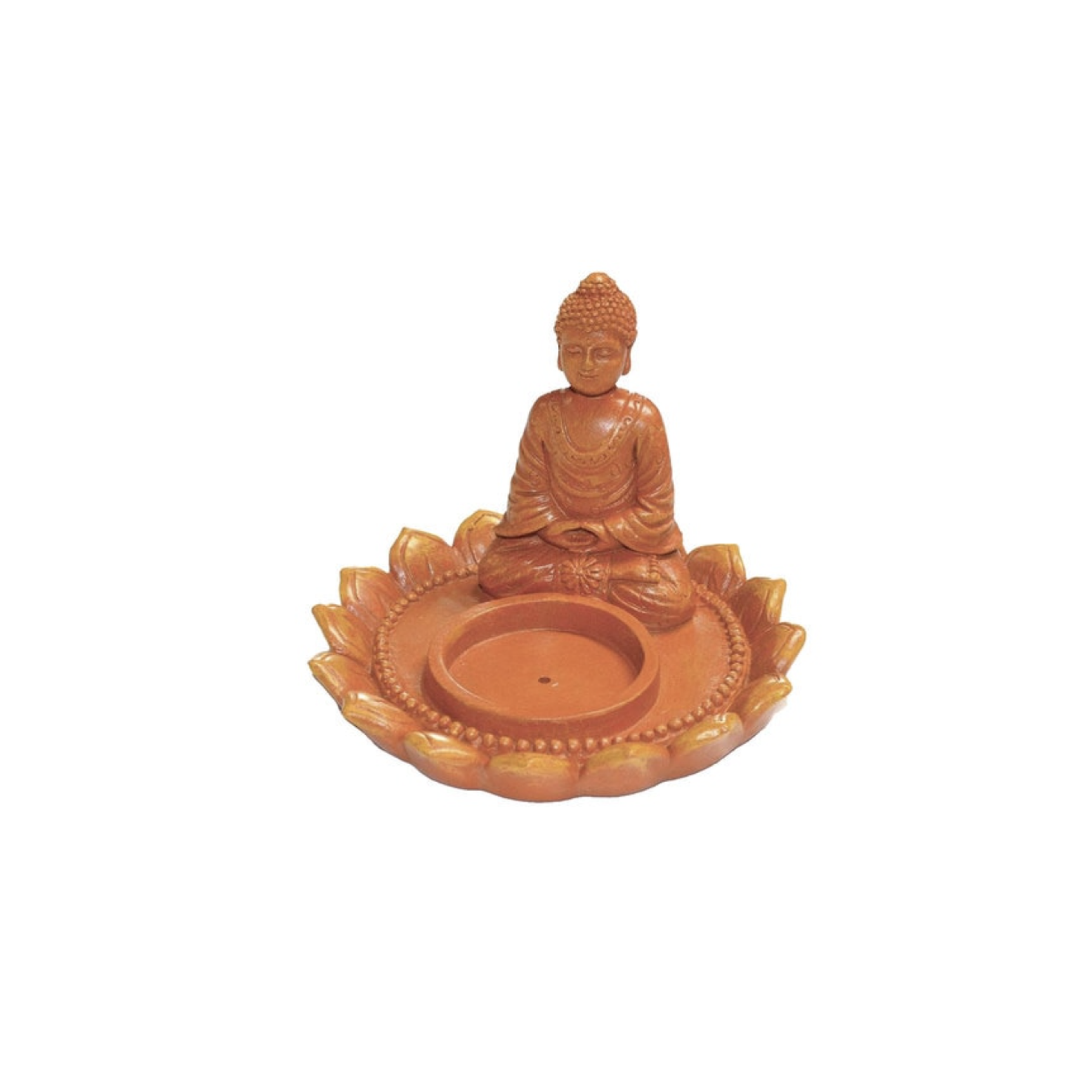 Buddha Incense Burner/Tea Light Candle Holder