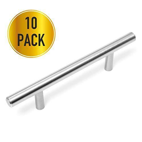 "25 Pack-3"" (76mm) Hole Center, Cabinet Handles, Cabinet Pulls, Kitchen Cabinet Handles, Cabinet Hardware, Kitchen Handles for Cabinets"