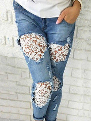 Denim Vintage Sheath Pants