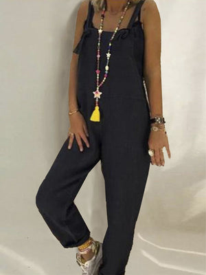 Loose casual jumpsuit