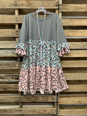 O-Neck Casual Dresses
