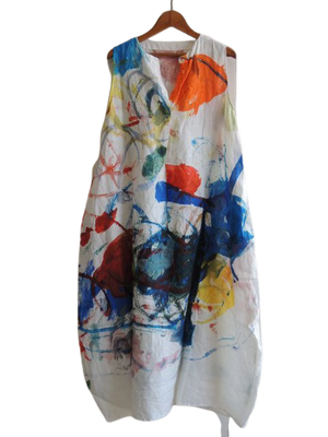 V Neck Women Dresses Daily Floral-Print Abstract Dresses
