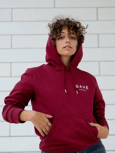 Sweat GAVÉ BORDEAUX Unisex - Bordeaux