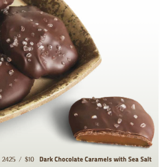 The Parlour Collection: Dark Chocolate Caramels with Sea Salt