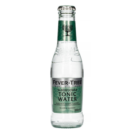 Fever-Tree Elderflower Tonic Water 4 Pack 200ml