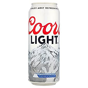 Coors Light 8 Pack 500ml Cans