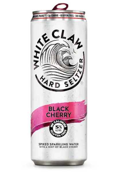 White Claw Hard Seltzer Black Cherry 330Ml (3 Pack)