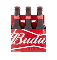 Budweiser Lager 6 Pack Bottle