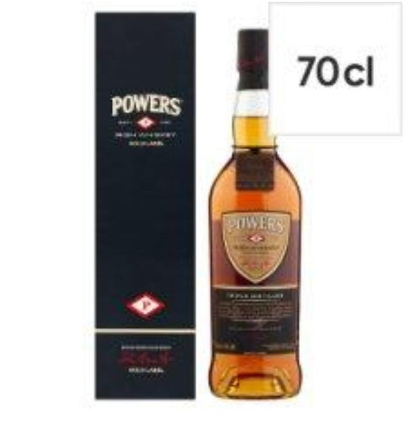 Powers Gold Label Irish Whiskey 70cl