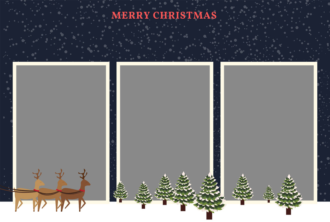 Christmas 017.1 - Photo Booth Template