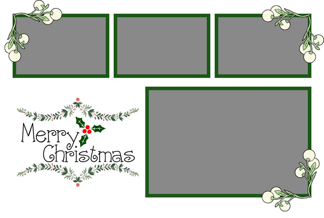 Christmas 021 - Photo Booth Template