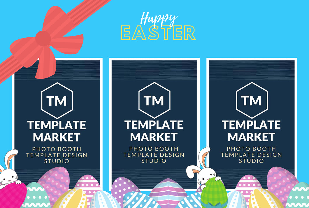 Easter 01.2 - Photo Booth Template