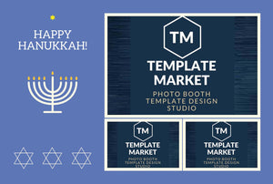 Hanukkah 01.0 - Photo Booth Template