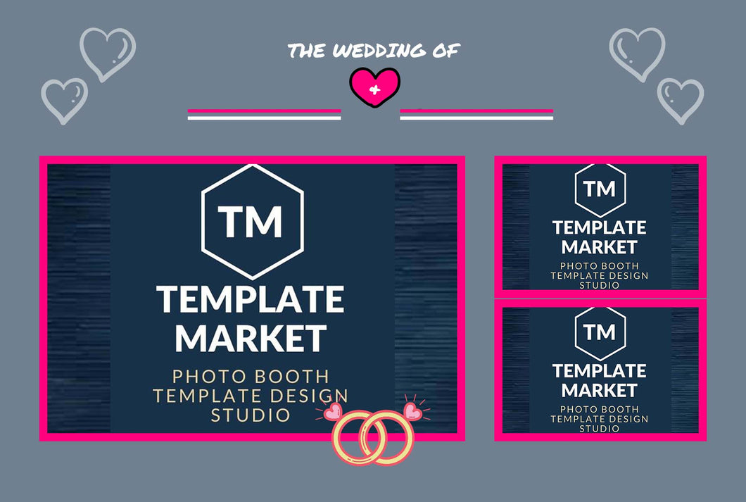 Wedding 03.0 - Photo Booth Template