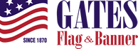 Gates Flag, Flagpole Installation